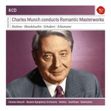 Charles Munch conducts Romantic Masterworks, 8 CDs