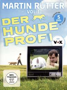 Martin Rütter - Der Hundeprofi Vol.1, 5 DVDs