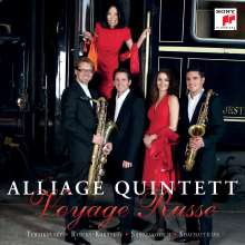 Alliage Quintett - Voyage Russe, CD