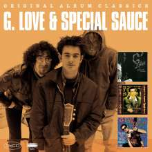 G.Love And Special Sauce: Original Album Classics, 3 CDs