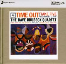 Dave Brubeck (1920-2012): Time Out (K2HD-Mastering) (Limited Edition), CD
