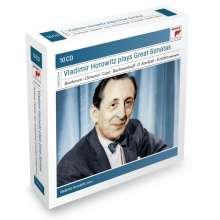 Vladimir Horowitz plays Great Sonatas, 10 CDs