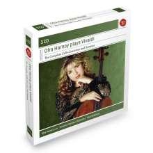 Antonio Vivaldi (1678-1741): Sämtliche Cellokonzerte, 5 CDs