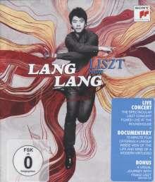 Lang Lang - Liszt, my Piano Hero, Blu-ray Disc