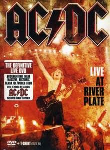 AC/DC: Live At River Plate 2009 + Men T-Shirt Größe XL, DVD