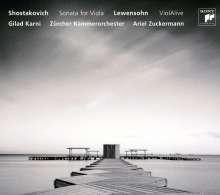 Gideon Lewensohn (geb. 1954): ViolAlive für Viola,Schlagzeug,Streichorchester, CD