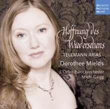 """Dorothee Mields - Telemann Arien """"Hoffnung des Wiedersehens"""", CD"""