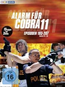 Alarm für Cobra 11 Staffel 24 & 25, 3 DVDs