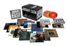 Johnny Cash: The Complete Columbia Album Collection, 63 CDs