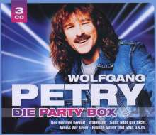 Wolfgang Petry: Die Party Box, 3 CDs