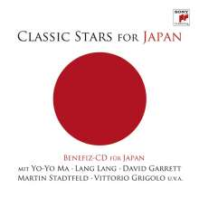 Classic Stars for Japan (Benefiz-CD), 2 CDs