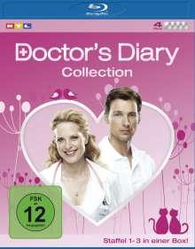 Doctor's Diary Staffel 1-3 (Komplettbox) (Blu-ray), 4 Blu-ray Discs