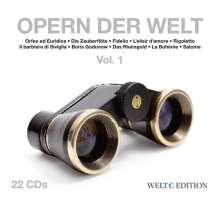 Opern der Welt Vol.1, 22 CDs