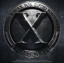 Jackman. Henry: Filmmusik: X-Men: First Class (O.S.T.), CD