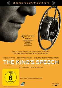 The King's Speech (Special Edition), 2 DVDs