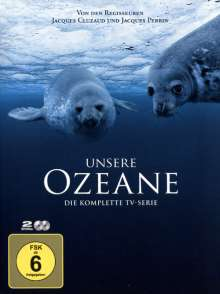Unsere Ozeane (Komplette 4-teilige TV-Serie), 2 DVDs