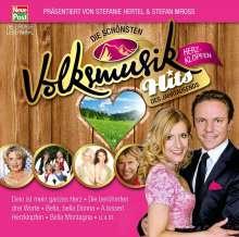 Die schönsten Volksmusik-Hits des Jahrtausends: Herzklopfen, 2 CDs