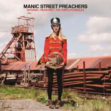 Manic Street Preachers: National Treasures: The Complete Singles (2 CDs + DVD), 2 CDs und 1 DVD
