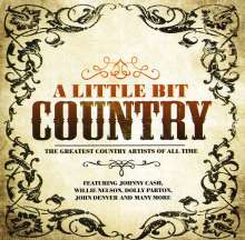 A Little Bit Country, CD