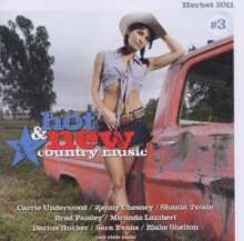 Hot & New Country Music Vol. 3, CD