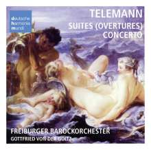 Georg Philipp Telemann (1681-1767): Bourlesque de Quixotte-Ouvertüre TWV 55, CD