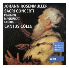 "Johann Rosenmüller (1619-1684): Geistliche Musik - ""Sacri Concerti"", CD"