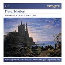 Franz Schubert (1797-1828): Sämtliche Messen, 4 CDs