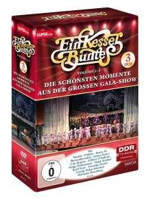 Ein Kessel Buntes Folge 1 (Vol.1-3): Die schönsten Momente aus der großen Gala-Show, 3 DVDs