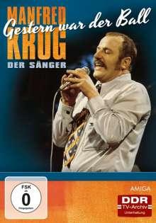 Manfred Krug: Gestern war der Ball (Manfred Krug der Sänger), DVD