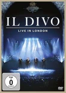Il Divo: Live In London 2011, DVD