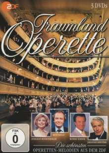 Traumland der Operette - Die schönsten Operetten-Melodien, 3 DVDs