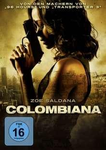 Colombiana, DVD