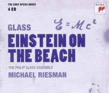 Philip Glass (geb. 1937): Einstein on the Beach, 4 CDs