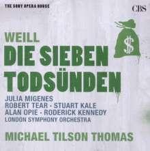 Kurt Weill (1900-1950): Die sieben Todsünden, CD