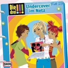 Die drei !!! Fall 23 - Undercover im Netz, CD