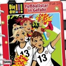 Die drei !!! Fall 24 - Fußballstar in Gefahr, CD