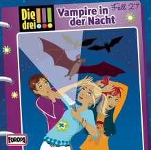Die drei !!! Fall 27 - Vampire in der Nacht, CD