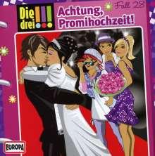 Die drei !!! Fall 28 - Achtung, Promihochzeit!, CD