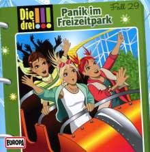 Die drei !!! Fall 29 - Panik im Freizeitpark, CD