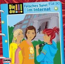 Die drei !!! Fall 30 - Falsches Spiel im Internat, CD