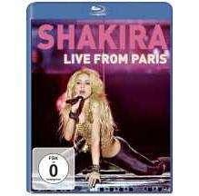 Shakira: Live From Paris, Blu-ray Disc