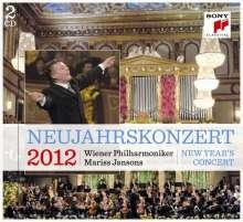 Das Neujahrskonzert Wien 2012, 2 CDs