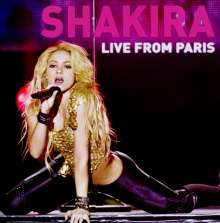Shakira: Live From Paris (CD + DVD), 2 CDs