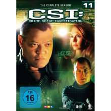 CSI Las Vegas Season 11, 6 DVDs