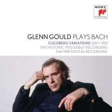 Glenn Gould plays... Vol.1 - Bach, 2 CDs