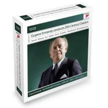 Eugene Ormandy conducts 20th Century Music, 12 CDs