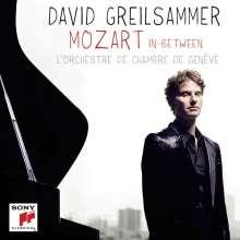 David Greilsammer - Mozart In Between, CD