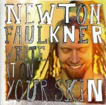 Newton Faulkner: Write It On Your Skin, CD