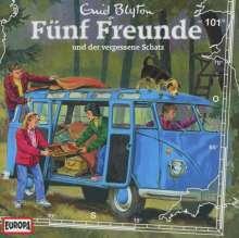 Fünf Freunde (Folge 101) - und der vergessene Schatz, CD