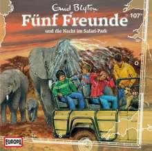 Fünf Freunde (Folge 107) - und die Nacht im Safari-Park, CD